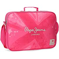 Pepe Jeans Clea Mochila escolar, 6.38 litros, 38 cm, Rosa