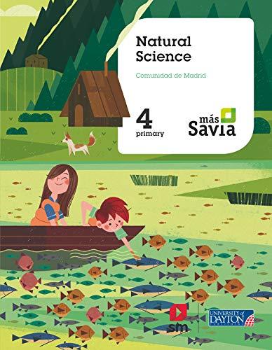 Natural science. 4 Primary. Mas Savia . Madrid