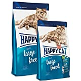 Happy Cat Adult Large Breed 1 x 4 kg + 2 x 300 g = 4,6 kg