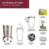 NutriBullet NBLP9 Blender, 900 W, Champagne