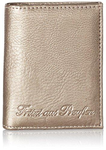 Fritzi aus Preussen Damen Tyra Geldbörse, Silber (Warm Silver), 2.5x10.5x8.5 cm