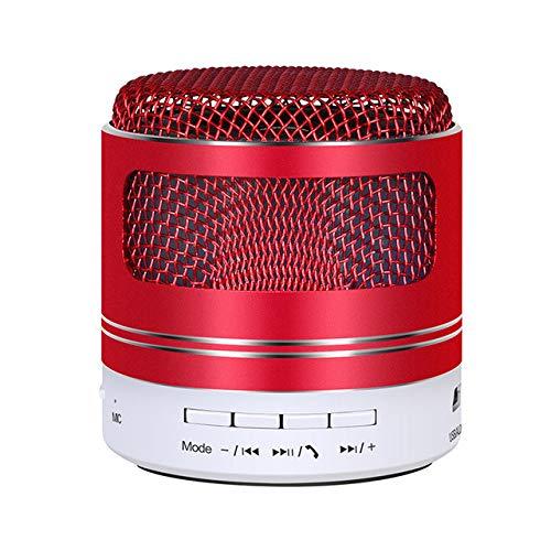 Altavoz de Bluetooth de Hierro de Alta Gama HiFi Colorido LED Mini...