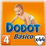 Dodot - Básico pañales - Talla 4, 8-15 kg - 44 unidades