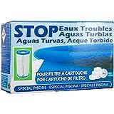 Gre satc6-Stop eaux Trouble pour Filtre à Cartouche, 6Pastilles de 17g