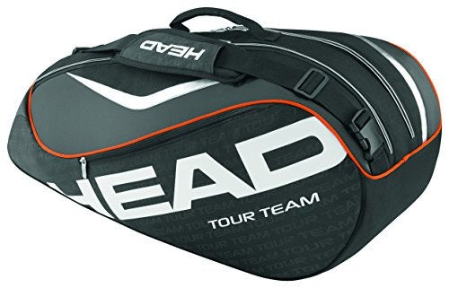 HEAD  Schlägertasche Tour Team 6R Combi schwarz - schwarz/silber