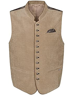 Michaelax-Fashion-Trade Spieth & Wensky Trachten Weste Herren Cord/Rhombe Falko (290810-1167)