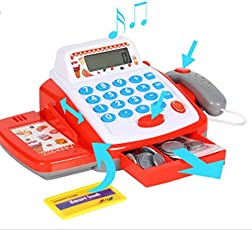 Generic Register with Checkout Scanner Playset