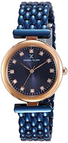 Daniel Klein Analog Blue Dial Women's Watch - DK11457-2
