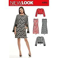New Look - Cartamodello 6302 per vestiti