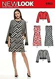 New Look - Cartamodello 6302 per vestiti e giacche da donna, taglie A (UK 8-20 / EU 36 - 52)
