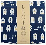 Japanese Tenugui (washcloth)   Retro komon washcloth about 33 × 90cm My Hero 3234