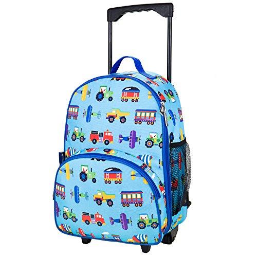 wildkin-valigia-con-rotelle-da-bambini-poliestere-blu-con-mezzi-di-trasporto
