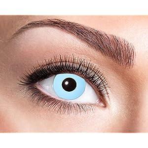 Eyecatcher – Farbige Wochenlinsen Kontaktlinsen, Cosplay, 2 Stück Wochenlinsen, blau, / BC 8.6 mm / DIA 14.5 mm