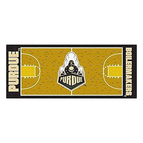 FANMATS 10728 Purdue basket Runner 30 po x 72