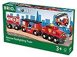 BRIO 33844 - Feuerwehr Löschzug, bunt