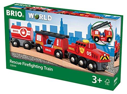 Preisvergleich Produktbild BRIO World 33844 - Feuerwehr Löschzug, bunt