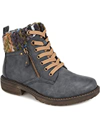 2f6b9a08b93 Pavers Relife Knitted Cuff Ankle Boot 310 448