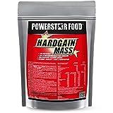 WEIGHT GAINER für HARDGAINER & MASSEPHASE - 406 kcal pro Kalorienshake - für mehr Masse, Kraft & schnelleren Muskelaufbau - 1600 g Zip-Beutel - Made in Germany (Vanille, 1600 g Beutel)