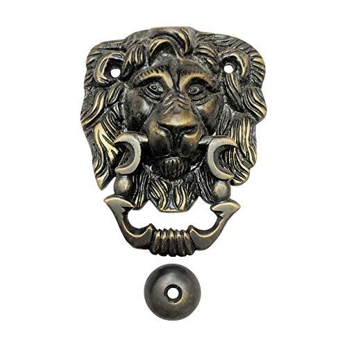 Adonai Hardware - Aldaba para Puerta (latón), diseño de león