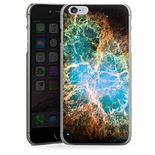 Apple iPhone X Silikon Hülle Case Schutzhülle Galaxy Muster Universum Hard Case anthrazit-klar