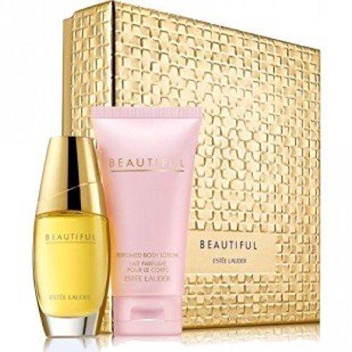 Estee Lauder Perfumed Body Lotion (Estee Lauder Beautiful EDP 30ml + Perfumed Body Lotion 75ml 2 Pieces Gift Set - Women's by Estee Lauder)