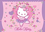 FORWALL Hello Kitty Pink Pattern Wallpaper Mural