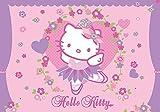 Olimpia Design Fototapete Photomural Hello Kitty, 1 Stück, 449P4