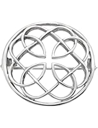 Heritage Sterling Silver Celtic Round Pin Brooch