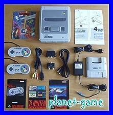 1x Original SNES Super Nintendo Konsole / SNES Gerät - in fast NEUWERTIGEM TOP-Sammlerzustand und KOMPLETT