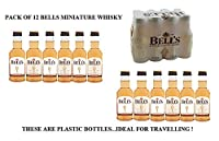 Bells 5cl Miniature whisky PACK OF 12 ...These are plastic bottles. ideal for travelling. from BELLS