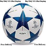 Alka Football Replica Champion League blue star Size 5