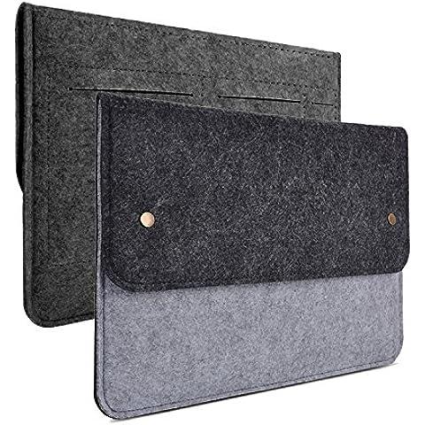 WITERY 13,3Borsa da trasporto/Custodia protettiva cover in Feltro Custodia elegante e sottile per 12.9ipad pro/13pollici Apple MacBook Pro Retina/MacBook Air, più 11Ultrabook Netbook