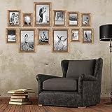 12er-Set Bilderrahmen Gold Barock Antik, 10x15, 13x18, 15x20 und 20x30 cm, inkl. Zubehör, Fotorahmen / Barock-Rahmen