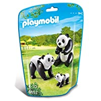 Playmobil 6652 City Life Panda Family(Multi-color)