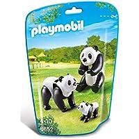 Playmobil - 6652 - Deux Pandas Avec Bébé