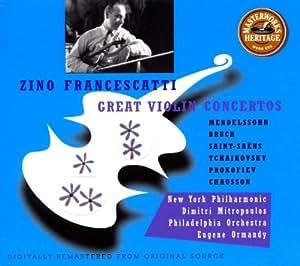 Les Grands Concertos pour violon   - Coll. Héritage