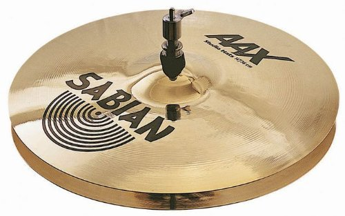 Sabian 21401XB AAX Studio Hi-Hats - Brilliant Finish