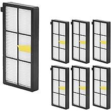 Pack de 6 Filtros HEPA iRobot Roomba Series 800 860 865 866 870 871 880 885 886 890 900 960 966 980 - Garantía: 24 Meses Bosaca