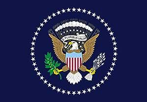 magFlags Flagge: XXXS Präsident der Vereinigten Staaten | Querformat Fahne | 0.135m² | 30x45cm » Fahne 100% Made in Germany