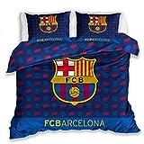 Carbotex FC Barcelona Cama Doble Cama 220x 200+ 2x 70x 80