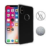 iPhone X Hülle, TopACE® TPU Hülle Schutzhülle Crystal Case Durchsichtig Klar Silikon transparent für Apple iPhone X (Transparent)