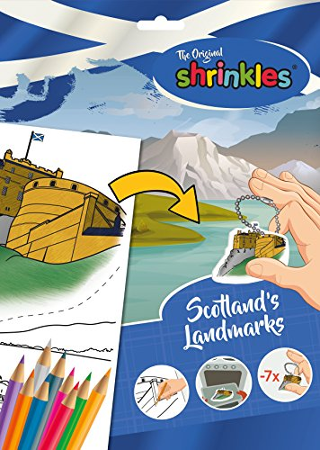 Shrinkles Shrinkles-WZ087 wz087 Original Escocia escocés Landmarks Slim Pack, Color Desconocido (Keycraft