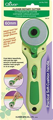 Clover 7502 rotary Cutter 60 mm (Mm Cutter 18 Rotary)