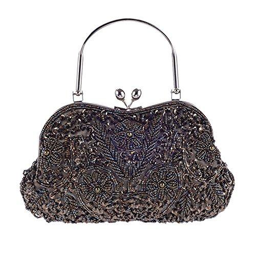 Eysee, Borsa tote donna oro Purple 24cm*14cm*3cm Grey