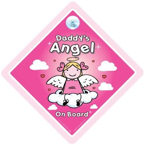 Daddy's Angel on board, Daddy's little Angel on board, Engel on board Schild