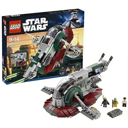 LEGO Star Wars 8097 - Slave I - 2010 Legos Star Wars