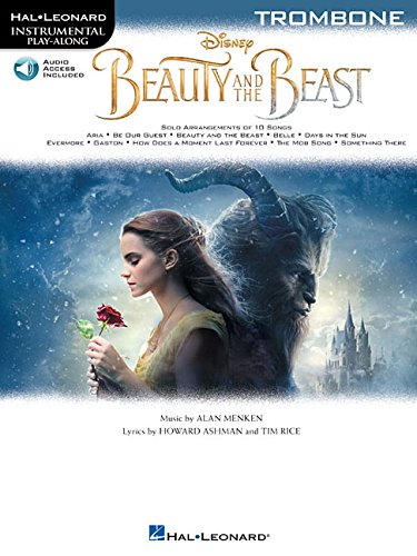 Instrumental Play-Along Beauty And The Beast -Trombone Book & Audio Online-: Noten, E-Bundle, Download (Audio) für Posaune (Hal Leonard Instrumental Play-along)