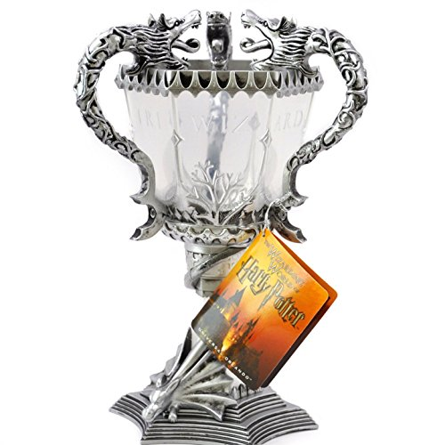 Wizarding World Harry Potter Exclusive Light-Up Tri Wizard TriWizard Dragon Champions Goblet Cup by Universal Studios