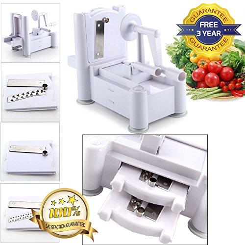 Twister Cutter (Tri Klinge Obst und Gemüse Schneide, Chopper, Schäler, Cutter, Twister Shred?3Jahren Garantie kostenlos.)