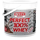Why Sport Perfect Whey 1750 - Integratore alimentare di proteine del siero del latte (Cacao) immagine